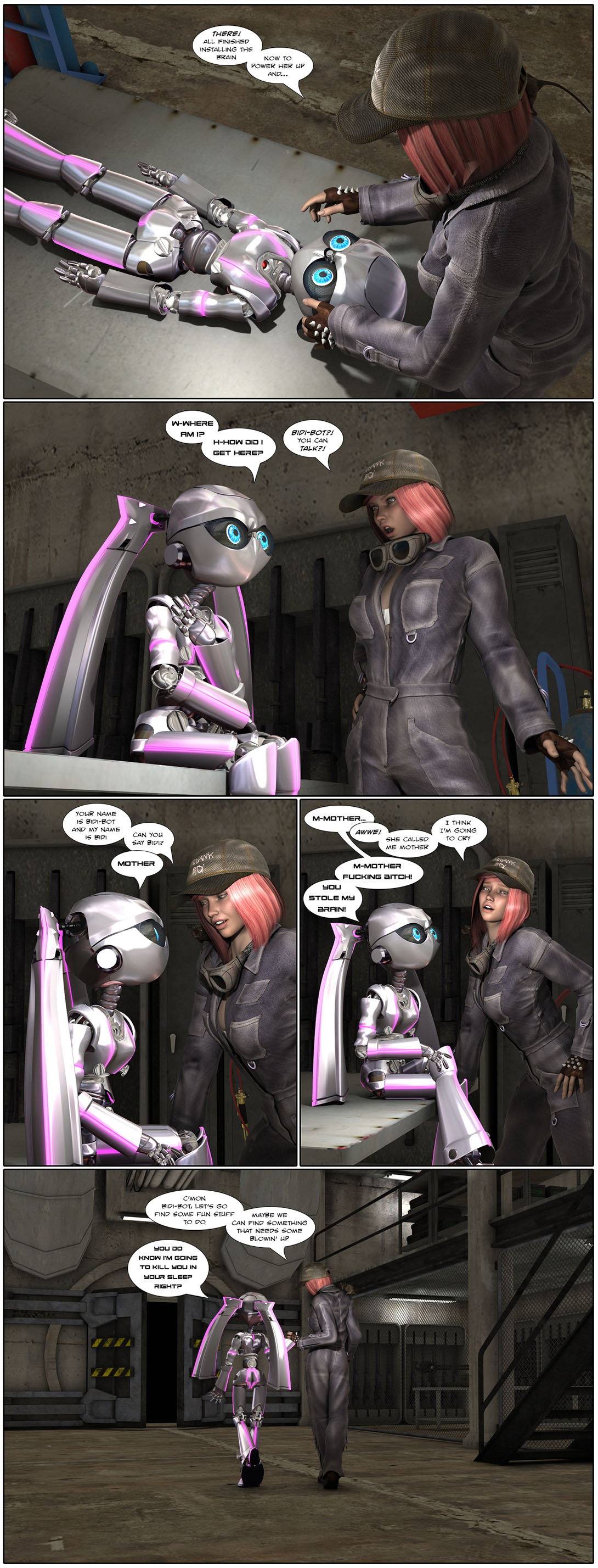 Bidi-Bot